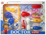 Set de joaca Ustensile doctor cu lumina si sunet, pentru baieti