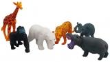 Set de joaca Animale salbatice, 6 buc/cutie