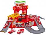 Set de joaca Parcare cu masini de pompieri