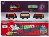 Trenulet clasic cu baterii, 1 set/cutie
