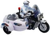 Jucarie Motocicleta cu atas si politist, cu baterii