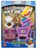 Set de joaca Accesorii bucatarie/cumparaturi, 1 set/cutie