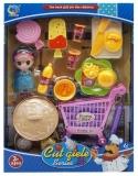 Set de joaca Accesorii desert/cumparaturi, 1 set/cutie