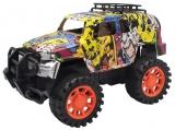 Jucarie Jeep cu frictiune, Grafitti