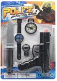 Jucarie Pistol cu accesorii politie, 1 set/blister