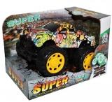 Jucarie Jeep cu frictiune, Grafitti Splash