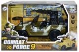 Jucarie Jeep militar cu soldat si accesorii