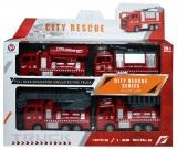 Masini pompieri, 4 buc/cutie