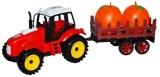 Jucarie Tractor si remorca cu legume/fructe