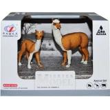 Figurine animale salbatice cu pui