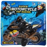 Jucarie Motocicleta, pe blister