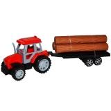 Jucarie Tractor cu lemne