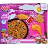 Set de joaca Pizza cu accesorii, 1 set/cutie