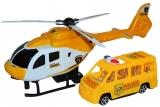 Set de joaca Elicopter si Microbuz Politie