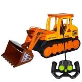 Jucarie Excavator-Incarcator cu telecomanda RC Construction Truck