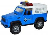 Jucarie Jeep Politie cu frictiune, lumina si sunet