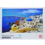 Puzzle din carton Marea Egee, 1000 piese, in cutie
