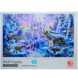 Puzzle din carton Castelul Lupiilor, 1000 piese, in cutie