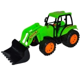 Jucarie Tractor cu incarcator frontal, 24 cm