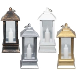 Lumanare ornamentala, felinar, cu candela