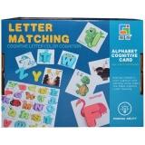 Joc educativ de asociere cu litere