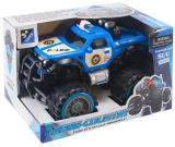 Jucarie Jeep politie cu frictiune, in cutie