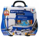 Set de joaca Politie, in cutie-masinuta