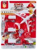 Set de joaca Vehicule pompieri, 5 buc/blister