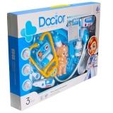 Set de joaca Doctor cu lumina si sunet, in cutie