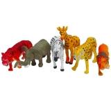 Figurine animale salbatice, 6 buc/set