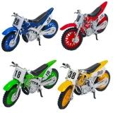 Jucarie Motocicleta din metal, diverse culori