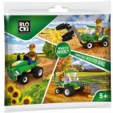 Joc constructie Utilaje ferma, diverse, Plic colectie Blocki