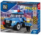 Joc constructie Masina de politie pentru patrulare, Blocki