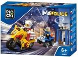 Joc constructie Urmarire cu masina politiei Blocki