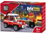Joc constructie Masina interventie pompieri, Blocki