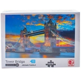 Puzzle din carton mini, 1000 piese, Tower Bridge