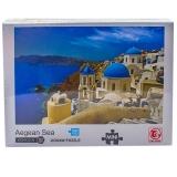 Puzzle din carton mini, 1000 piese, Marea Egee