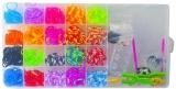 Set creativ de elastice pentru bratari, 700 piese