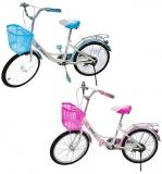 Bicicleta cu roti de 20 inch si cos, tip city, diverse culori