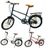 Bicicleta cu roti de 20 inch si portbagaj, diverse modele