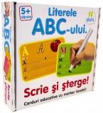 Joc educativ Scrie si Sterge! ABC