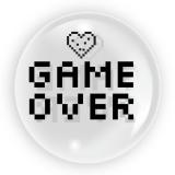 Balon transparent Game Over, 45 cm, Tuban