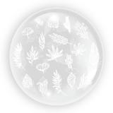Balon transparent, Frunze 1, 45 cm, Tuban