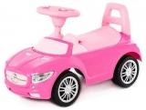 Masina Supercar fara pedale, roz, 66 cm, Polesie