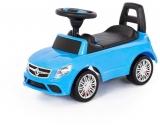 Masina Supercar fara pedale, albastra, 66 cm, Polesie