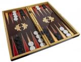 Joc table din lemn, cu zar, 49 cm