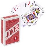 Carti de joc Joker, rosii, Cartamundi