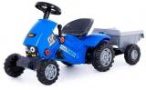 Tractor Turbo cu 2 pedale si remorca Polesie