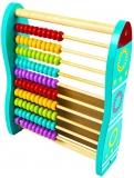 Socotitoare din lemn multicolora cu cifre si semne matematice