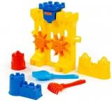 Set de joaca Moara pentru nisip cu 5 accesorii Polesie